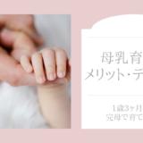 母乳育児のメリット、デメリット