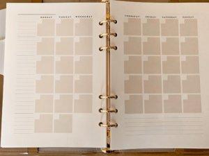 マークスのシステム手帳